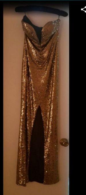 Mermaid Gold Sequin Dress for Sale in Miami, FL