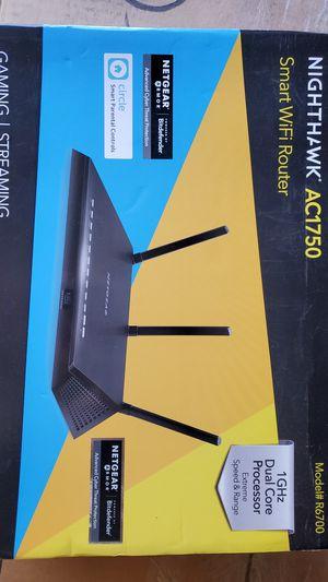 Netgear nighthawk AC1750 smart WiFi Router for Sale in Chula Vista, CA
