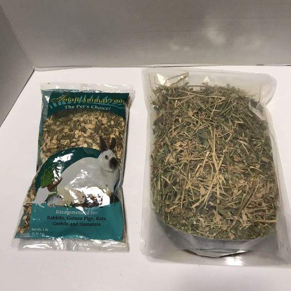 Small animal food the pet's choice 1lb