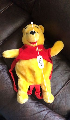 Disney Winnie the Pooh stuffed animal back pack for Sale in NO POTOMAC, MD