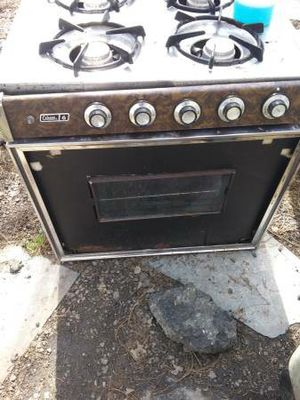 1978 vintage Coleman gas drop in stove/oven for Sale in Fletcher, NC