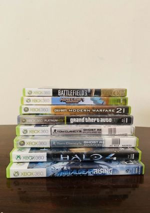 Xbox 360 games for Sale in Durham, NC