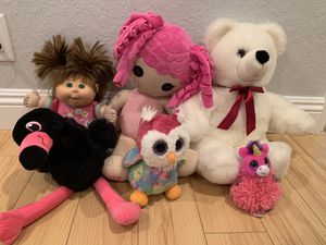 Stuffed animals and dolls for Sale in Ladera Ranch, CA