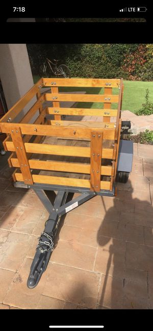 Tow utility trailer for Sale in Los Angeles, CA