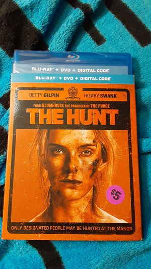The Hunt Blu-ray +DVD + Digital *NEW* for Sale in Martin, GA