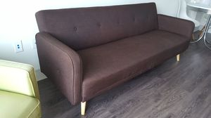 Mid century sofa couch futon for Sale in Fort Lauderdale, FL