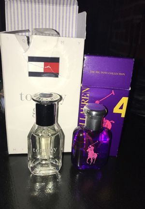 Tommy Hilfiger and Ralph Lauren perfume for Sale in St. Louis, MO
