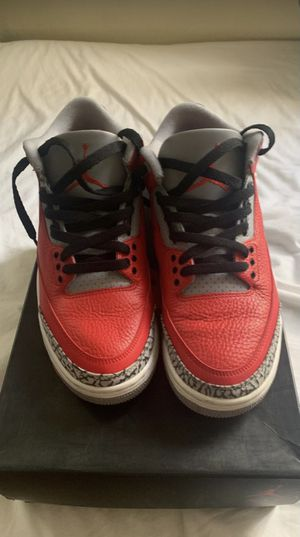 Jordan 3 Unite Fire Red for Sale in Burbank, CA