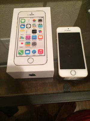 IPhone 5s, Gold, 16GB Verizon Wireless Network for Sale in Vancouver, WA