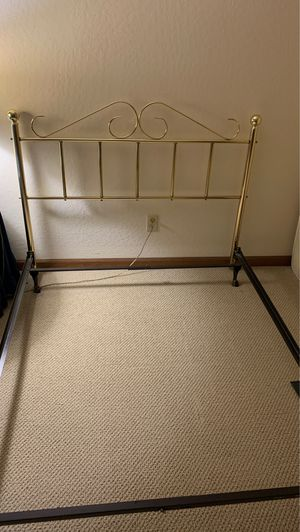 Full size bed frame-no mattresses for Sale in Lodi, CA