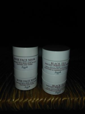 Fresh rose face mask and black tea instant profecting mask for Sale in Los Angeles, CA