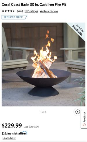 Large and sturdy Fire Pit! for Sale in Seattle, WA