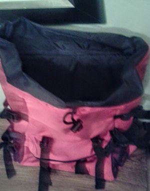 Fila backpack red color lots of space and pockets use for hiking, camping, school, etc... Asking $40 for Sale in Surprise, AZ