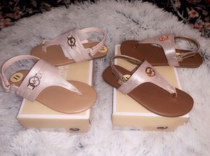 New Girls Michael Kors Sandals. for Sale in Dallas, TX