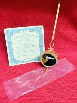 """""""The Nightmare Before Christmas"""" Cuckoo Clock Pendulum & Bradford Exchange Certificate for Sale in Las Vegas, NV"""
