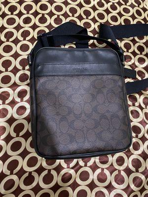 Coach Side Bag / messenger bag & coach silk scarf for Sale in Riverside, CA
