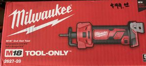 Milwaukee M18 Cut Out Tool for Sale in Torrance, CA