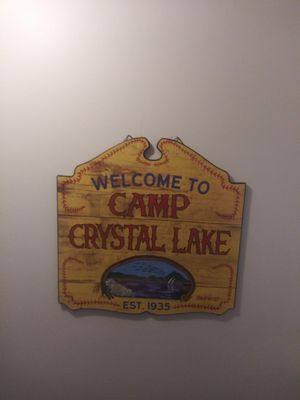 Camp Crystal Lake / Friday the 13th sign for Sale in Gaithersburg, MD