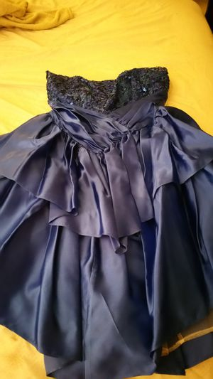 Blue Strapless Cocktail/Party Dress for Sale in Manassas, VA