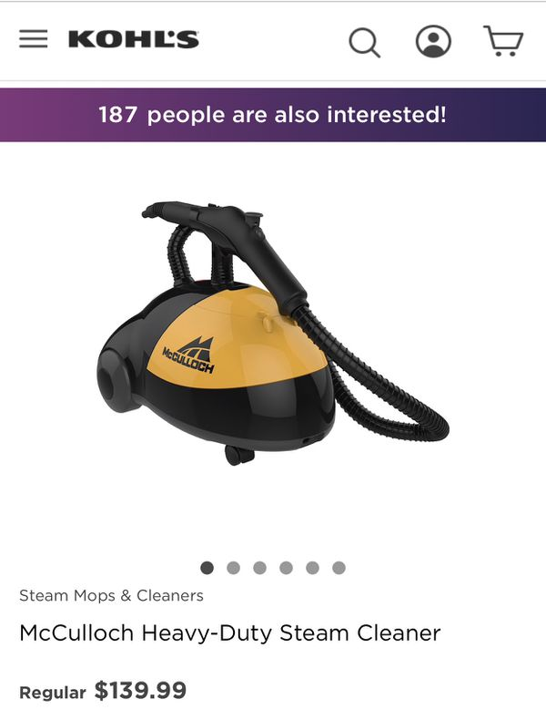 Steam cleaner Mcculloch