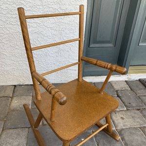 Kids Wooden Rocking Chair - Like New for Sale in Henderson, NV