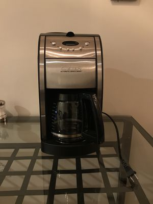 Cuisinart Grind & Brew Coffee Maker for Sale in Boston, MA