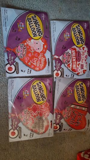 Valentine's Singing Balloons for Sale in Groveport, OH