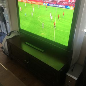 """Panasonic Tv 52"""" & Stand for Sale in Los Angeles, CA"""