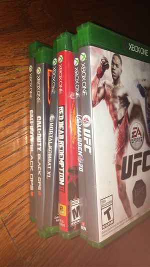 Xbox ONE & 360 GAMES for Sale in Lanham, MD