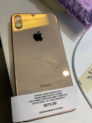 Used, iPhone XS Max 256gb T-Mobile metropcs $880 for Sale for sale  Queens, NY