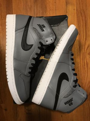 "AIR JORDAN RETRO 1 HIGH ""RARE AIR COOL GREY"" SZ 11.5 for Sale in Hyattsville, MD"
