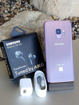 Galaxy S9 64GB Clean Unlocked T-Mobile Metro AT&T Cricket Sprint Boost Verizon Telcel Purple $360 or best reasonable offer NO low offers 🚫 for Sale in Monterey Park, CA