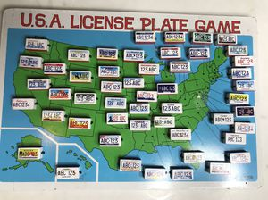 USA License Plate Game• Melissa & Doug for Sale in San Diego, CA