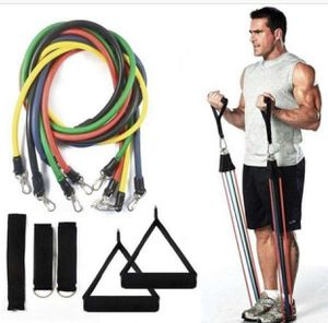 Resistance Bands Workout Exercises 11Pcs Set(same day shipping) for Sale in Los Angeles, CA
