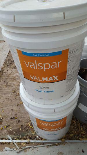 2 buckets flat white $$ 40 each for Sale in Avondale, AZ