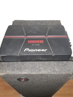 1000w pioneer 2 channel amplifier for Sale in Chicago, IL