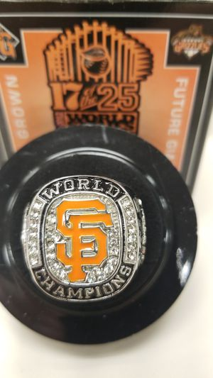 Fresno Grizzlies stadium giveaway 2012 S.F. Giants ring for Sale in Fowler, CA