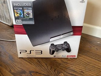 PS3 120gb With 2 Controllers for Sale in Santa Clarita,  CA