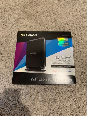 Netgear Nighthawk AC1900 like new for Sale in Oakland, CA