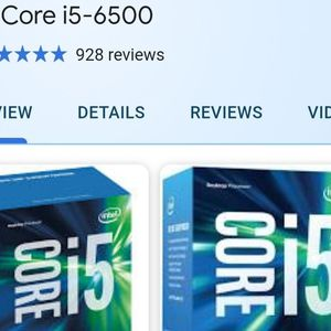 I5-6500 Intel cpu for Sale in Los Angeles, CA