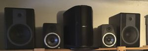 M-Audio 2= BX5 & 2= BX8a total =4 Powered Studio Monitor Studiophile Amplified speakers for Sale in Everett, WA