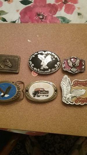 Assorted belt buckles for Sale in Pleasant Garden, NC