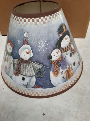 Christmas Shade for Small Lamp for Sale in Glendale, AZ