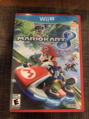 Nintendo Wii U Mario Kart 8 MINT COMPLETE for Sale in Los Angeles, CA