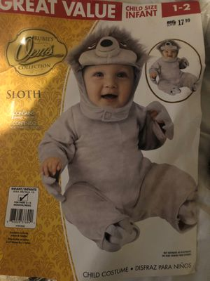 NEW BABY SLOTH COSTUME FREE for Sale in Fullerton, CA