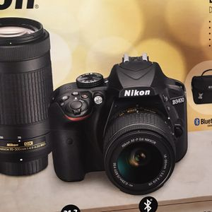 Nikon 3400 Bundle Pack Please Check Pics for Sale in Corona, CA