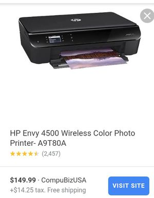 HP ENVY 4500WIRELESS COLOR PHOTO for Sale in Long Beach, CA