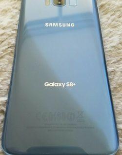 Unlocked 64GB Samsung Galaxy S8 Plus coral blue phenomenal condition for Sale in Miami,  FL