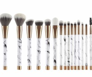 Brand New Makeup Brushes 15 Pieces Makeup Brush Set Premium Face Eyeliner Blush Contour Foundation Cosmetic Brushes for Powder Liquid Cream, Set In for Sale in Arnold, MO