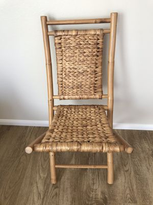 Bamboo Chair for Sale in San Diego, CA